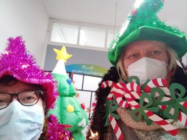 Some festive teachers!