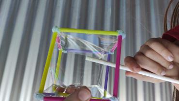 ¡Geometría a través de las burbujas!