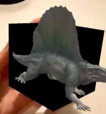 ¡Tenemos un dinosaurio 3D en nuestras manos!