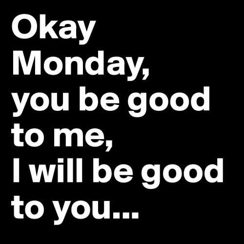 Us agraden els #dilluns?