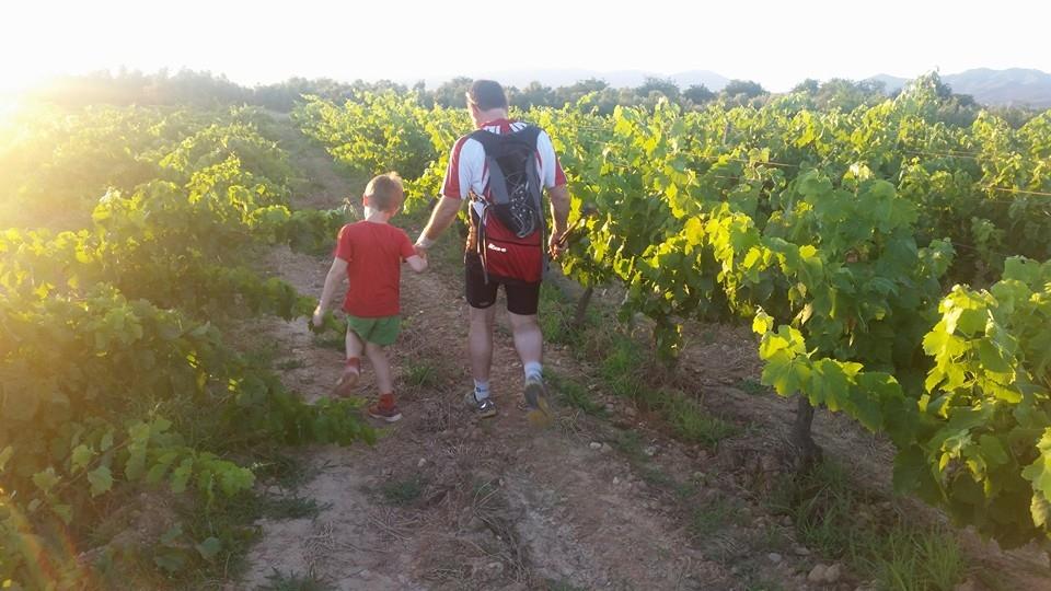 Passejada a les vinyes de Can Garriga