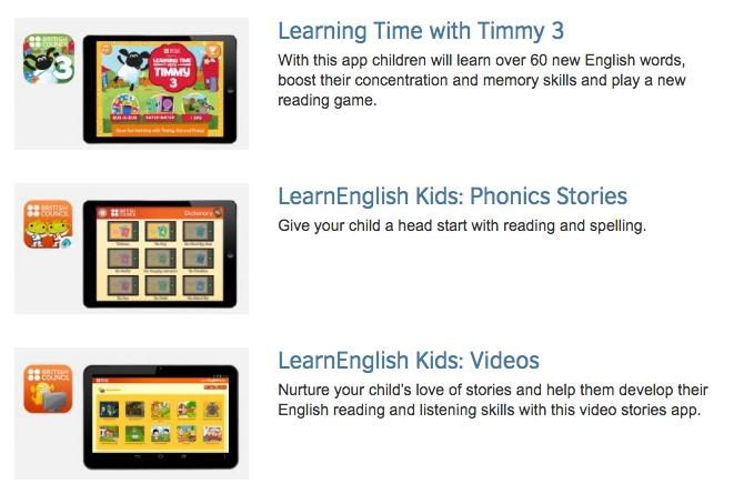 Algunes apps per aprendre anglès