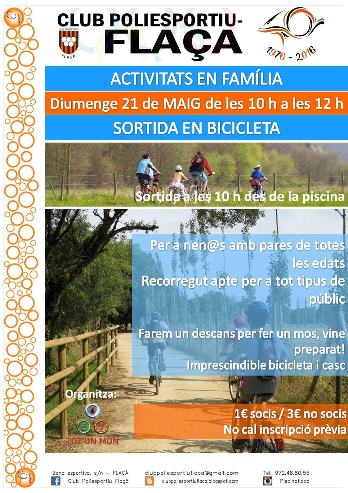 Activitat en #família!