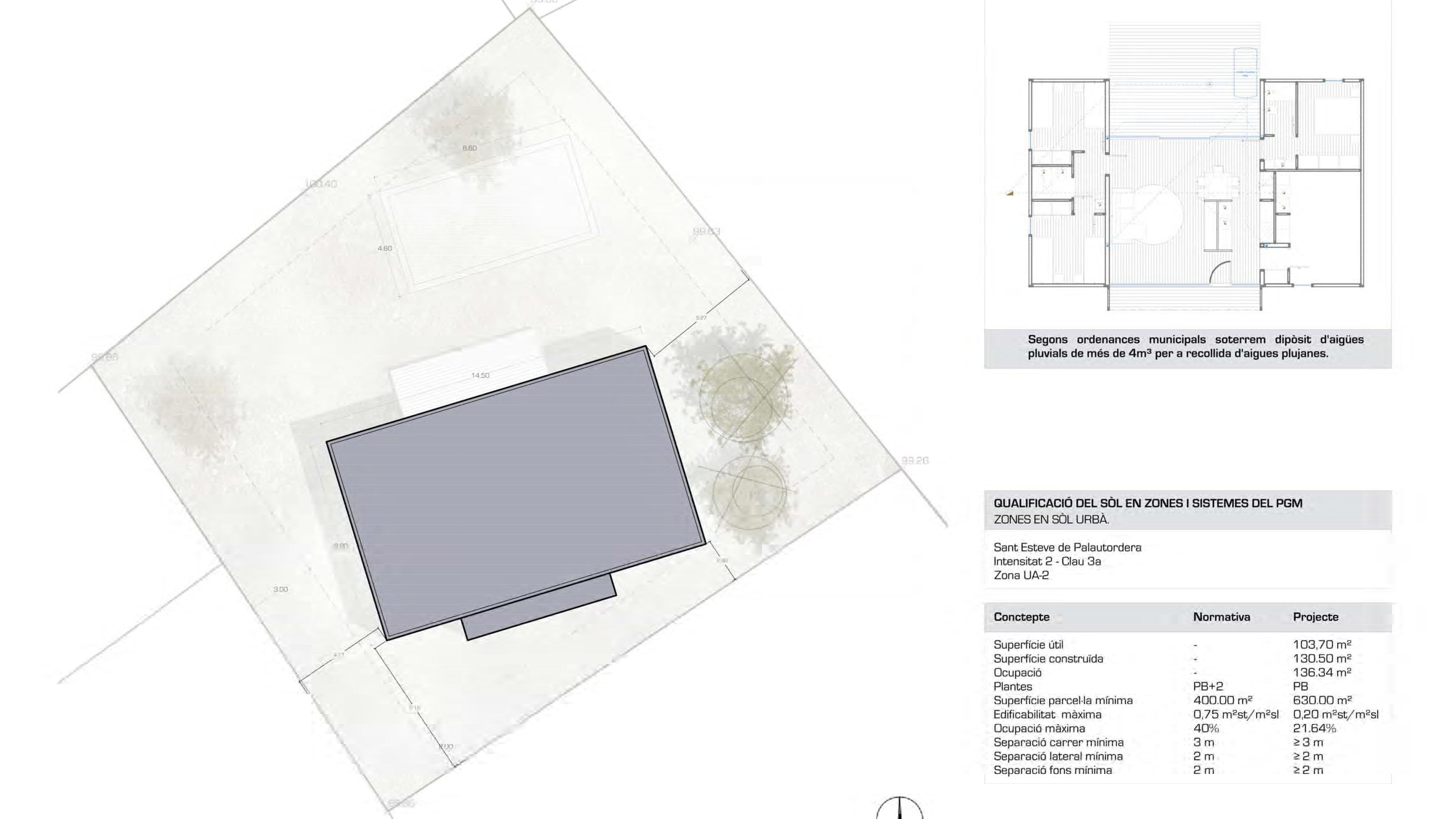 """Un nuevo modelo """"H130"""" de Genial Houses estará construido en breve en Palautordera"""