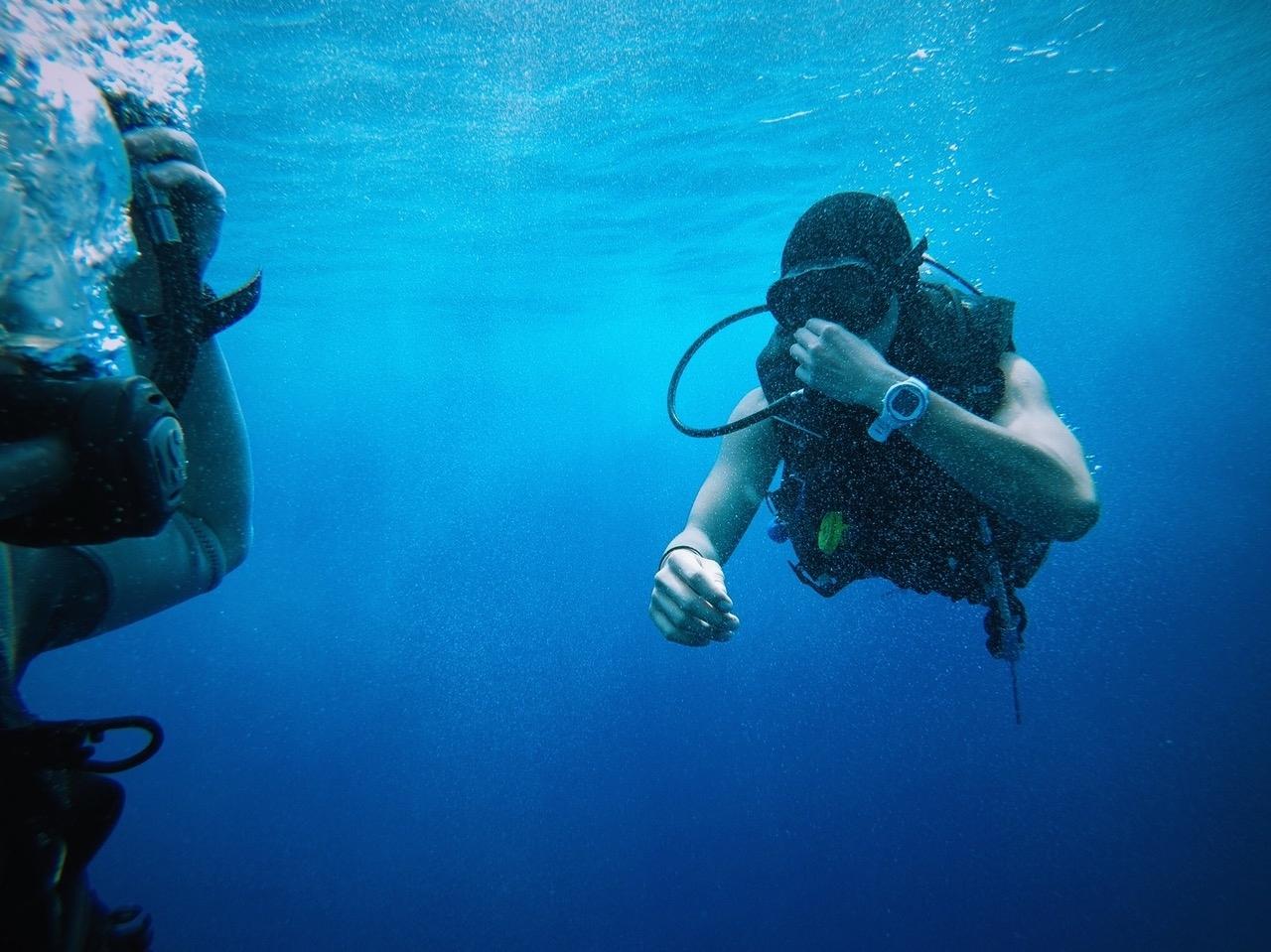 Bateig de submarinisme el diumenge 18 Juny al matí