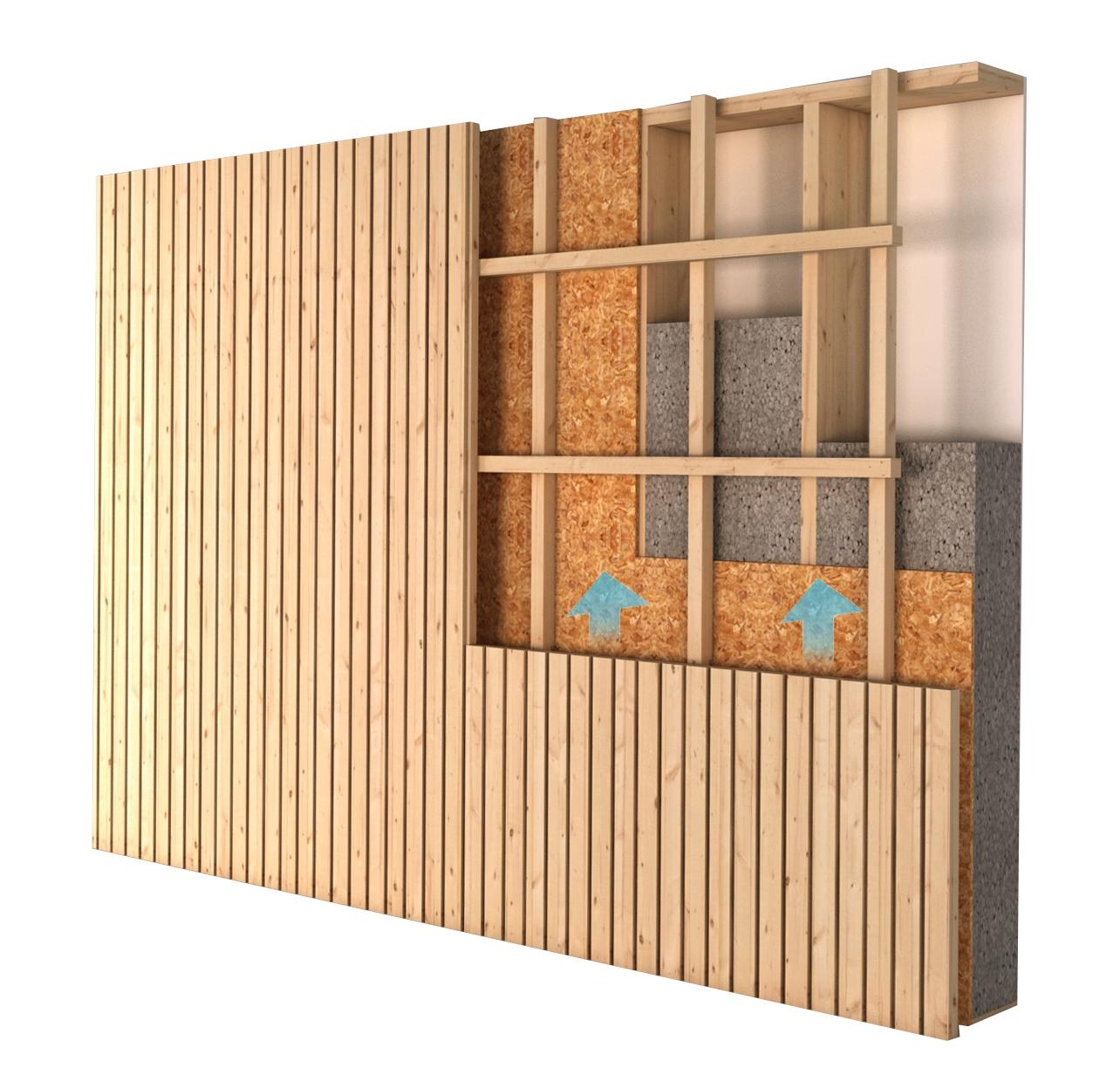 Per què fem cases de fusta i no d'acer? Perquè aïllen més del fred o calor, et permeten estalviar més en calefacció, aire condicionat... i són més ecològiques!