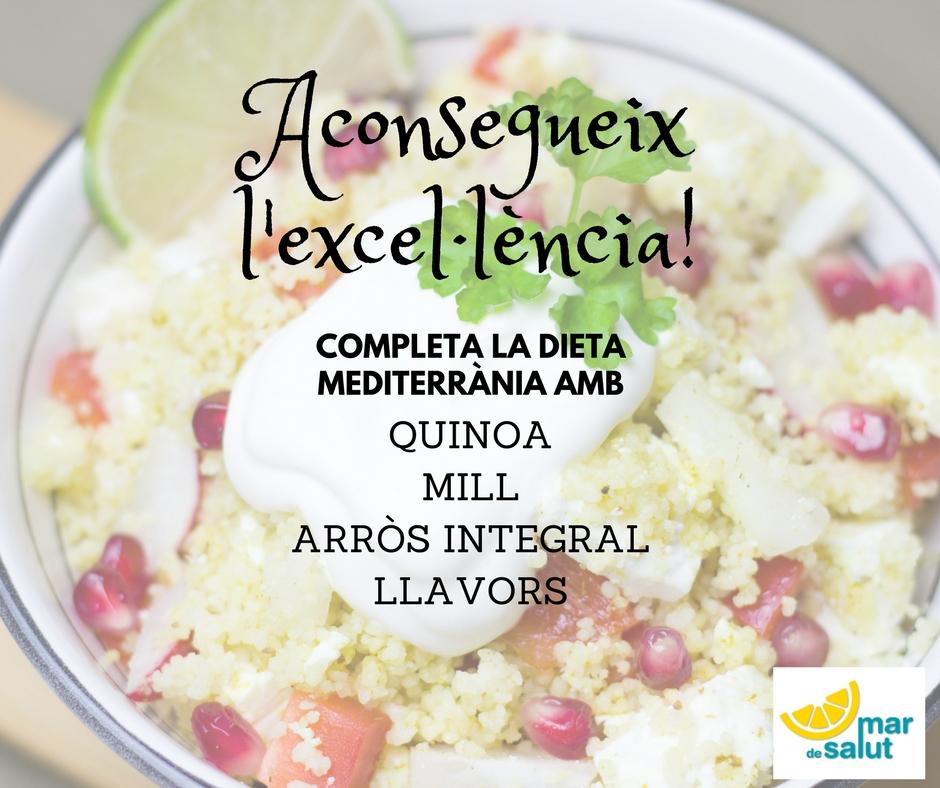 Millora la teva dieta mediterrània