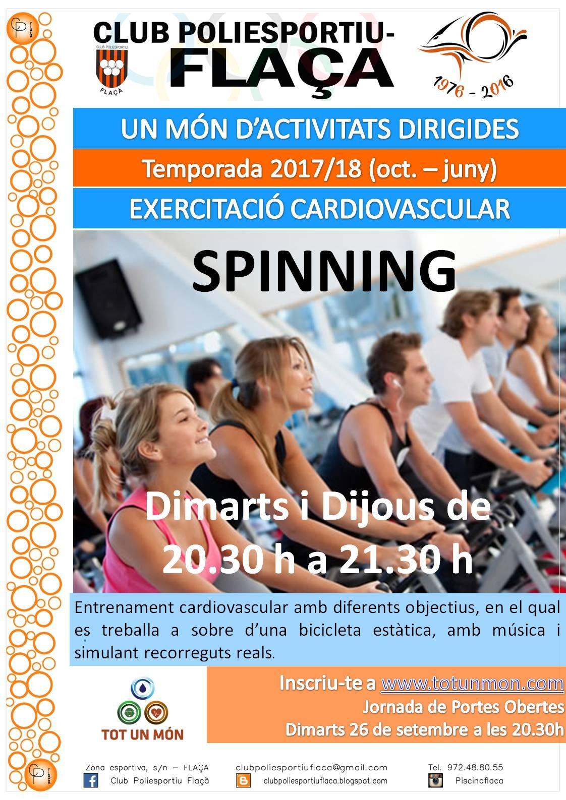 Spinning!