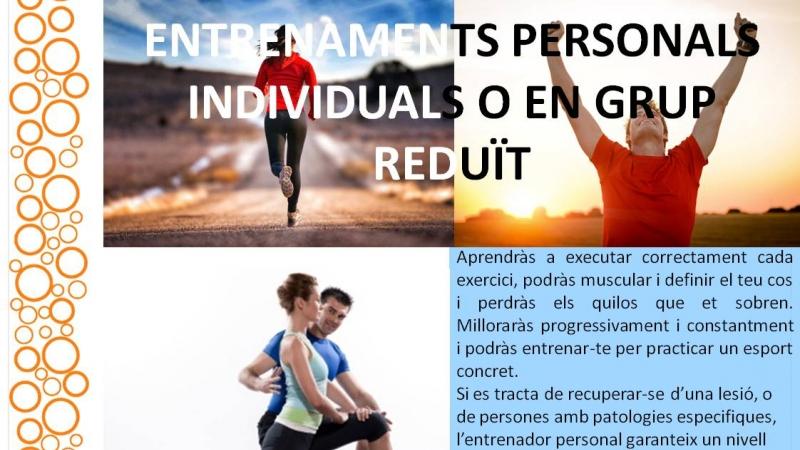 #Entrenaments personals