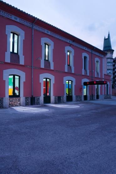 Espai jove a l'antiga estació del carrilet a Girona