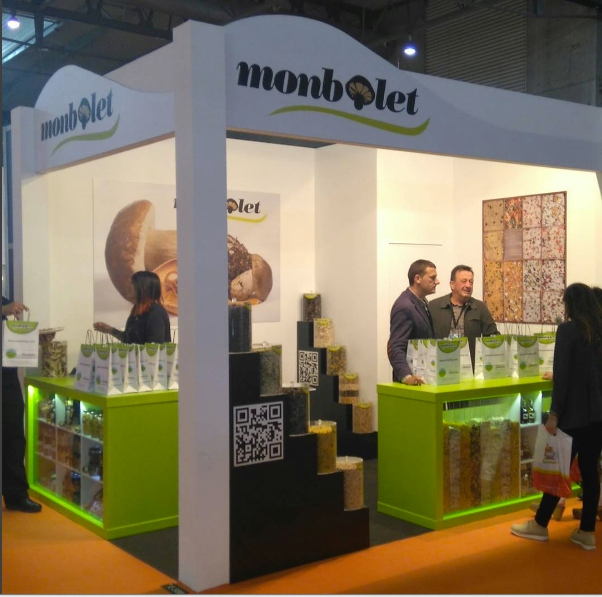 Monbolet participa al Saló Internacional de l'Alimentació i Begudes: Alimentaria