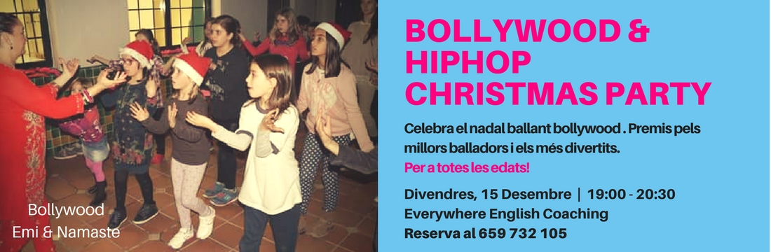 "Bollywood & ""hiphop"" Christmas Party"