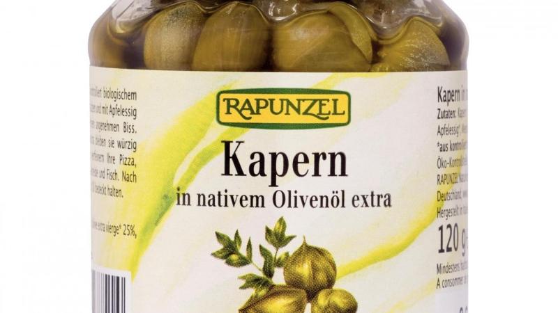 Tàperes amb oli d'oliva bio RAPUNZEL