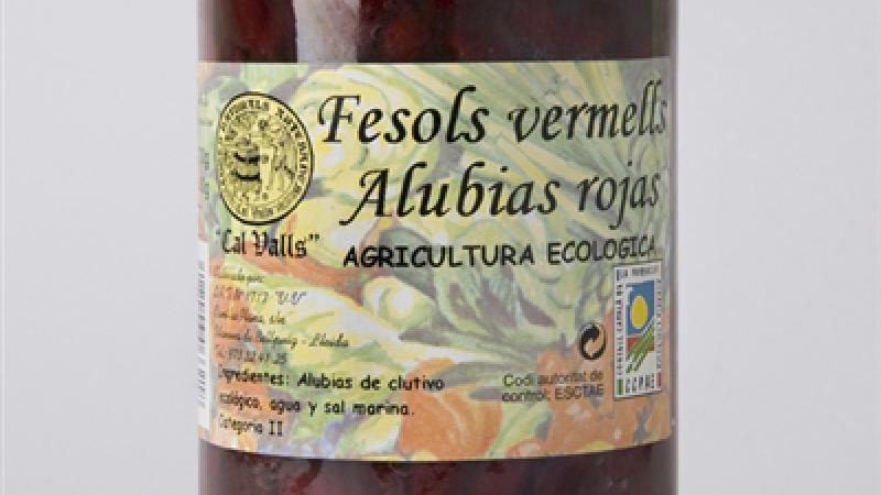 Fesol vermell eco CAL VALLS