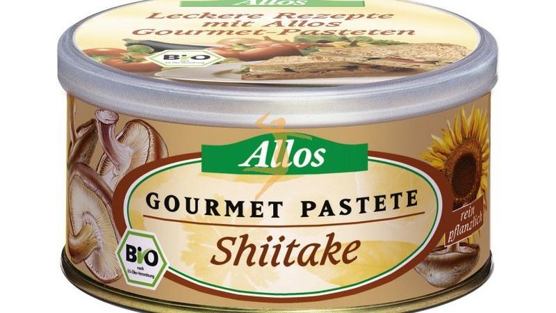 Paté de shitake bio ALLOS