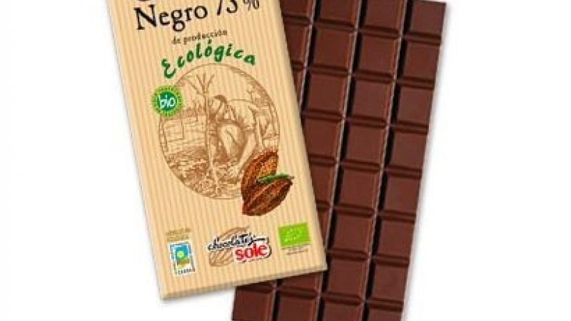 Xocolata negra 73% CHOCOLATES SOLE