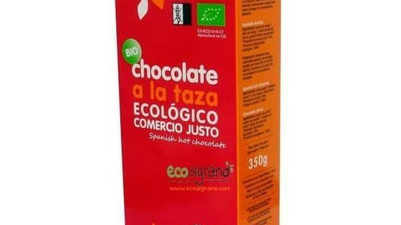 Xocolata a la tassa de comerç just bio ALTERNATIVA 3