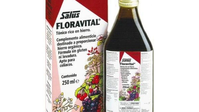 Floravital rica en ferro SALUS
