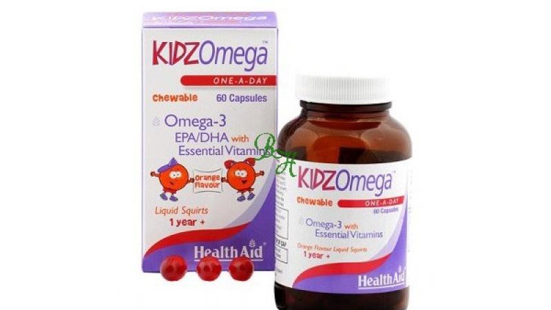 Kidz omega masticable HEALTH AID