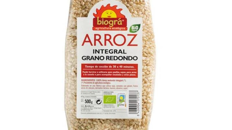 Arròz Redondo integral bio BIOGRA