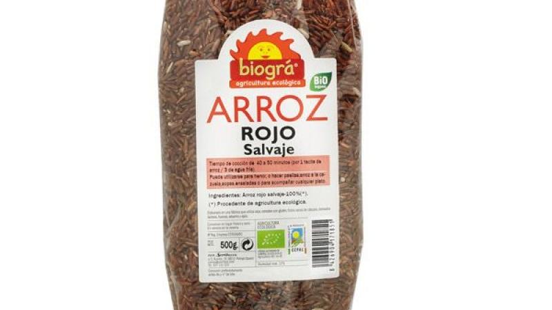 Arròs vermell salvatge bio BIOGRA