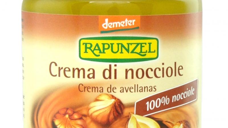Crema de avellanas bio RAPUNZEL