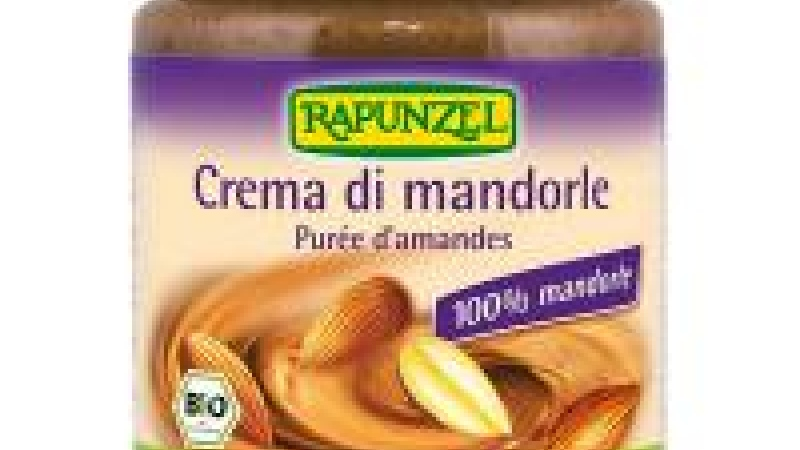 Crema de almendras tostadas bio Rapunzel