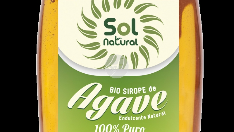Sirope de Agave bio antigoteo SOLNATURAL
