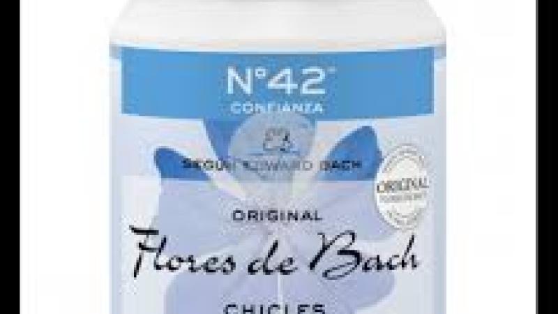 Xiclets Flors de Bach n 42 confiança
