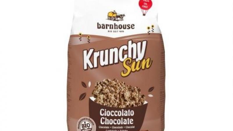 Muesli krunchy pur amb xocolata negra i avellanes BARNHOUSE
