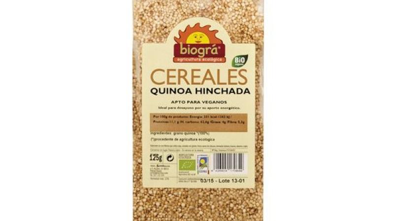 Quinoa imflada bio BIOGRA