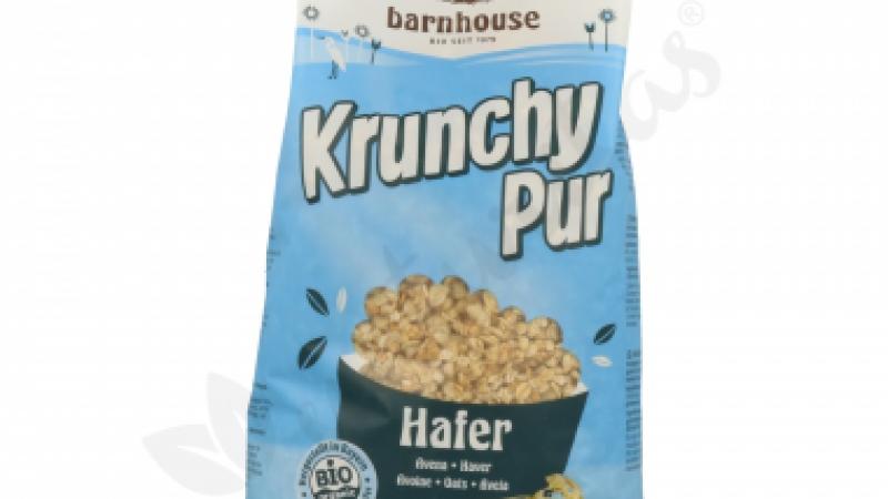 Muesli Krunchy pur avena eco sin azúcar BARNHOUSE