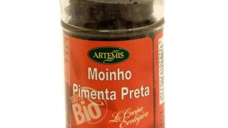 Pebre negre en gra amb molinet bio ARTEMIS