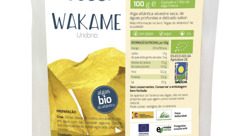 Algas Wakame eco ALGAMAR