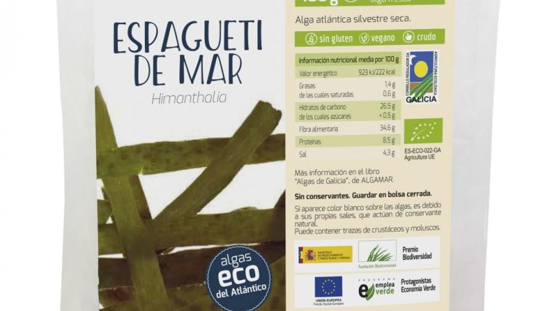 Alga Espagueti de Mar bio ALGAMAR