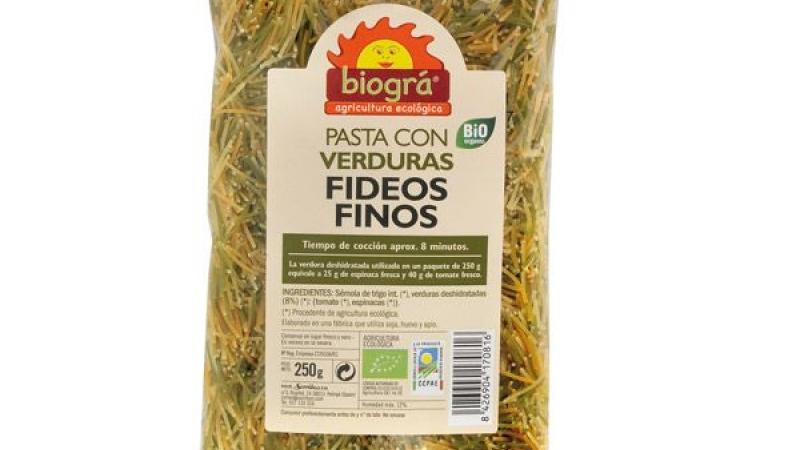 cabell d'àngel amb verdures bio BIOGRA