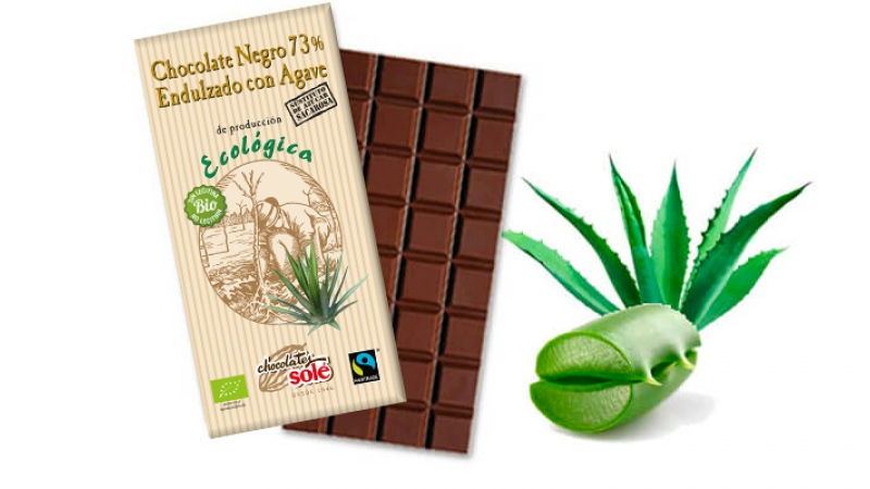 xocolate negre 73% amb agave eco SOLE
